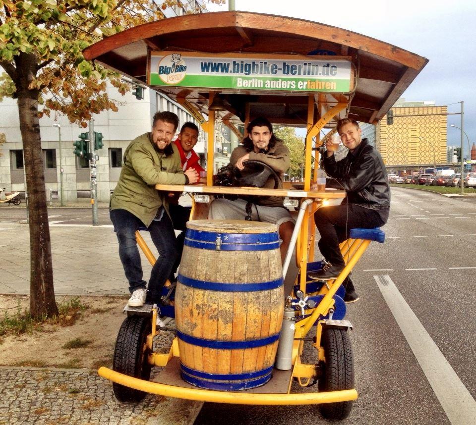 Gab i Berlin med Filip&Fredrik