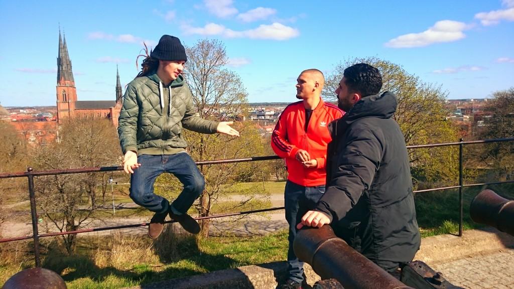 Dani M Uppsala video shoot